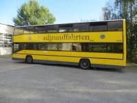 Doppeldecker, gelb
